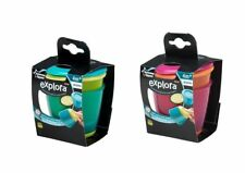 Tommee Tippee Explora Pop Up Weaning Pots x 2