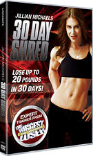 JILLIAN MICHAELS 30 DAY SHRED - DVD - REGION 2 UK