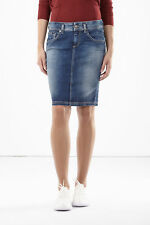 GAS BEVERLEY LONGUETTE W179 Gonna longuette in denim comfort Donna