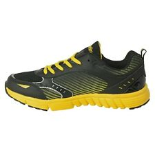 Action Shoes Men Black-Yellow Sports Shoes (NS-112-BLACK-YELLOW)