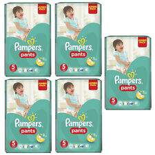 "PAMPERS Windeln Pants Junior ""5"" Sparpack (5 x 48 Stk) +64 Pampers Feuchttücher"