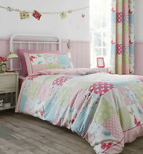 CATHERINE LANSFIELD CANTERBURY PATCHWORK BEDDING QUILT SET, DUVET COVER, PILLOW