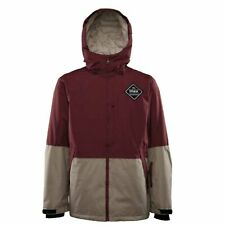 THIRTYTWO SHILOH INSULATED JACKET BURGUNDY FW 2017 S M L XL GIACCA SNOWBOARD NEW
