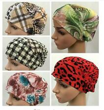 Women Bonnet underscarf chemo inner hijab cap  tube bone bandana yoga hair loss