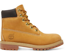 Timberland Original 6 Inch Premium Wheat 12909 Juniors - Womens Nubuck Boots_1