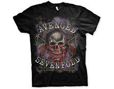 OFFICIAL LICENSED - AVENGED SEVENFOLD - BLOODY TRELLIS T SHIRT METAL A7X