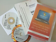 Microsoft Windows 7 Pro, Professional 64bit DVD, Vollversion + Lizenz Aufkleber