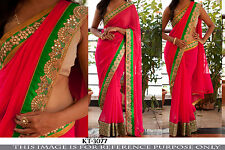 INDIAN ETHNIC BOLLYWOOD REPLICA EXCLUSIVE DEAL PARTY WEAR DESIGNER SAREE EE DEAL