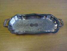 Viners Silver Plated Vintage Sandwich Tray