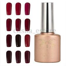 12ml Esmalte De Uñas Soak-Off UV Gel Manicura Pedicura Top Base Coat Permanente