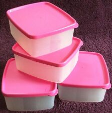 Tupperware - Cool & Fresh - 500ml - set of 4 Square boxes - Four Varieties - New