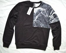 BNWT NEIL BARRETT PEGASUS SWEATSHIRT BLACK JUMPER