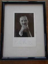 Vtg Autograph Signed Photograph Postcard PETER BOWLES Comedy Actor TV Theatre