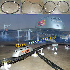 Battery Operated A Big Creativity Metro train Tack & Bridge Toy Gift  For kids