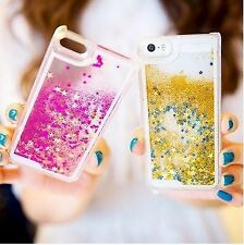 Apple iPhone 5 / 5S ★ Luxury 3D Glitter Bling Star Waterfall Novelty Back Cover