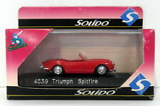 Solido Models 1/43 Scale Diecast 4539 - Triumph Spitfire - Red