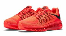 Branded Export Surplus Sports Nike Flyknit 2015 Max Red breathe shoes For Men