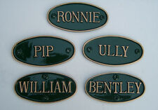 HORSE NAME SIGNS / PLAQUES  FOR STABLES, BOX OR GATE
