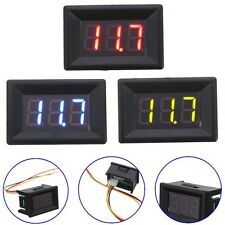 0.36 Inch DC 0-30V 3 Wire LED Voltmeter Digital Display Panel Volt Meter