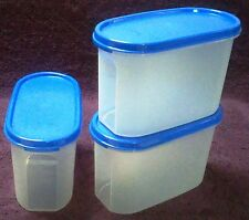 Tupperware - M.M.Oval#3 - 1.7 ltr - Blue Seal -Very Useful Dry Storage Container