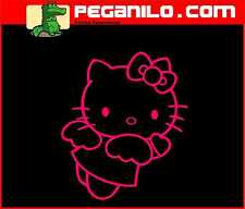 ADHESIVO PEGATINA VINILO STICKER AUFKLEBER DECAL VINYL HELLO KITTY 20 x 17