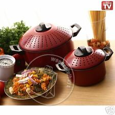 AS SEEN ON TV PASTA POT WITH FREE 1 CHEF WIZARD -SALE!!