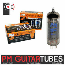 PM GUITAR EL84 Amplifier POWER Tubes /valves (SINGLE Tube, Matched PAIR & QUAD)