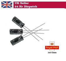 1uF 50V 5 x 11mm Electrolytic Capacitors - Pack of 10 / 20