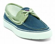 Sperry Top-Sider Chaussures bateau Homme Bahama Toile bleu NEUF