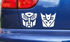 Autobots Decepticons Transformers Funny Novelty Car Window Bumper Sticker Decal