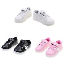 Children Boys Girls Cute Novelty LED Flash Breathable Kid Shoes Sneakers