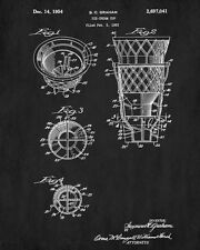 Ice Cream Cups Patent Print Cafe Art Blueprint Art Kitchen Poster Illustration