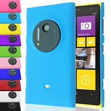 OIL COATED MATTE RUBBERIZED PLASTIC SNAP-ON BACK CASE COVER FOR NOKIA LUMIA 1020