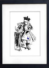 Art Print - Party Alice - Alice in Wonderland Archival Wall Art Print NO.71
