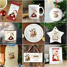 Personalised Boofle Cute Christmas Gifts for Baby 1st First Xmas Women Her Girls