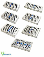 Dentistry Products Sterilization Cassettes Of Various Sizes Dental Autolave New