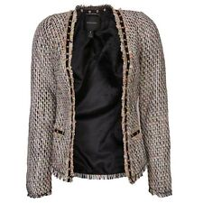 Maison Scotch Fashion Blazer In Multi Colour Tweed