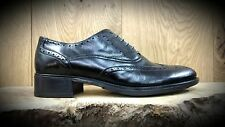 Luis Gonzalo // 4038M // Handmade Ladies Black Brogues Shoes // REDUCED Was £135