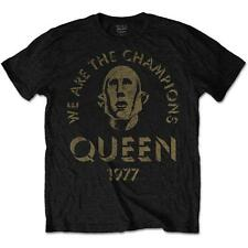 OFFICIAL LICENSED - QUEEN  - WE ARE THE CHAMPIONS T SHIRT FREDDIE MERCURY ROCK
