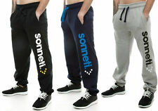 Nickelson Mens Boys Hip Hop Star Fleece Jogging Jogger Bottoms Pants