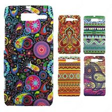 Heartly Aztec Print Tribal Thin Hard Back Case Cover Motorola Droid Razr M XT907