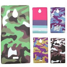 Heartly Army & Strip Style Retro Thin Hard Back Case Cover For Nokia X2 Dual Sim