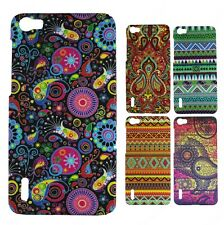 Heartly Aztec Print Tribal Matte Style Thin Hard Back Case Cover Huawei Honor 6