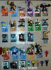 skylanders collection série Giants, Swap Force, Trap team figurine, piège, objet
