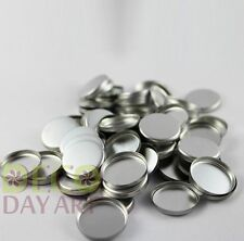 Empty Round Tin Pans for DIY Eyeshadow Responsive to Magnets 26mm