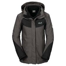 Jack Wolfskin Serpentine 3 in 1 Doppeljacke damen dark steel *UVP 269,99