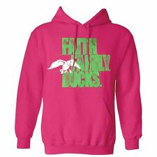 *Duck Commander Pink/Lime Faith-Family-Ducks Hoodie (Fishing Sweater)