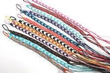 NEW HANDMADE 2 COLOUR SURFER FRIENDSHIP BRACELET UNISEX MIXED COLOURS