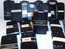LEATHER FLIP CASES FOR MOBILE PHONES ~ click HERE to browse or order