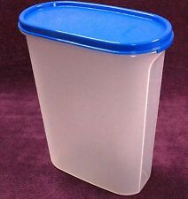 Tupperware - M.M.Oval#4 - 2.3 ltr - BLUE Seal -Very Useful Dry Storage Container
